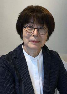 小林純子新会長の写真