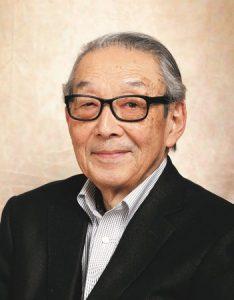 高橋志保彦名誉会長の顔写真